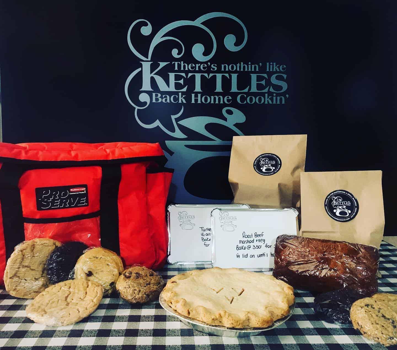 Kettle's Back Home Cookin' Deliveries